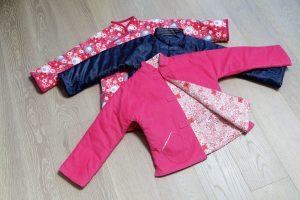 由本地新進品牌Three4Five生產的棉襖,創辦人希望延續中國傳統服飾,不只是富有人家才能擁有,而是家家戶戶都有一件。