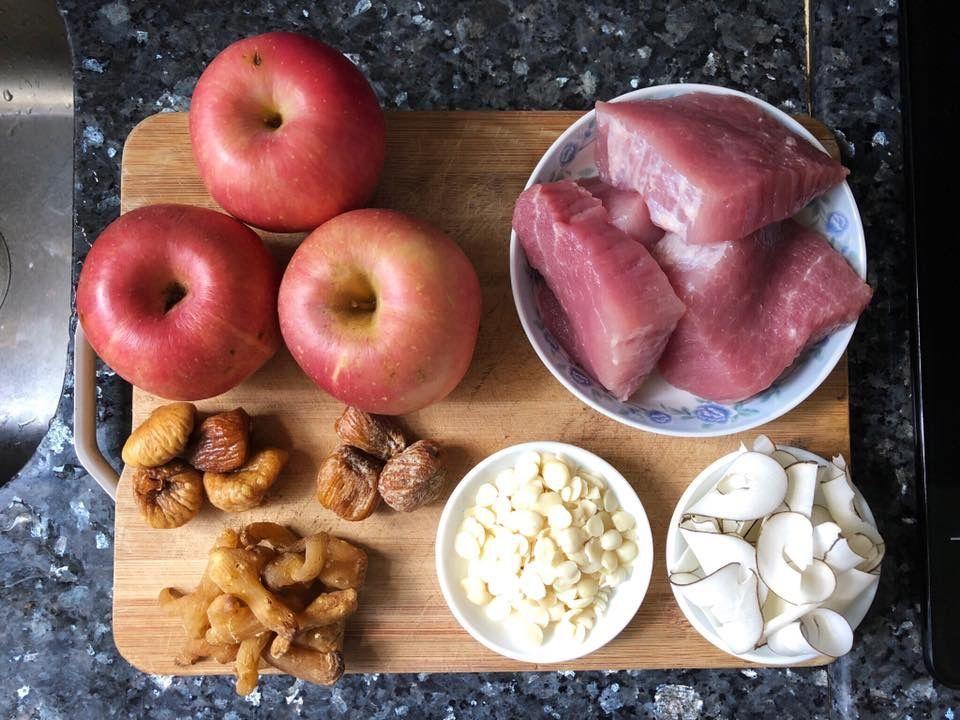 【清熱止咳】蘋果海底椰玉竹頭無花果瘦肉湯_黃巴士