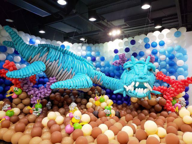 全港最大氣球藝術展 - 恐龍世界大冒險_黃巴士