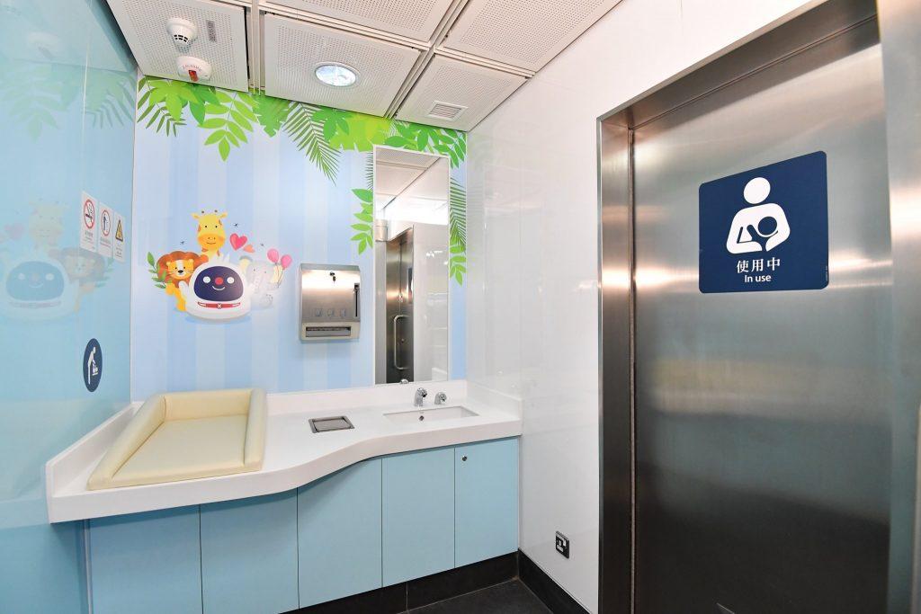 媽媽喜訊!港鐵油塘站育嬰室正式啟用_黃巴士