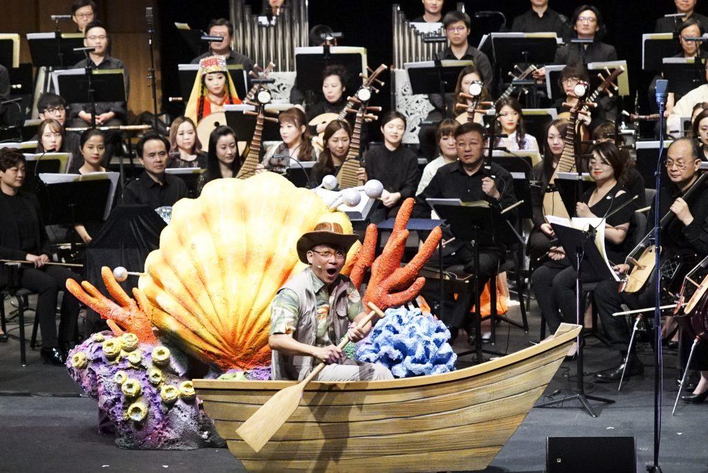 香港中樂團暑假重頭戲  《音樂尋寶記3 ——誰在竹林裡歌唱》_黃巴士
