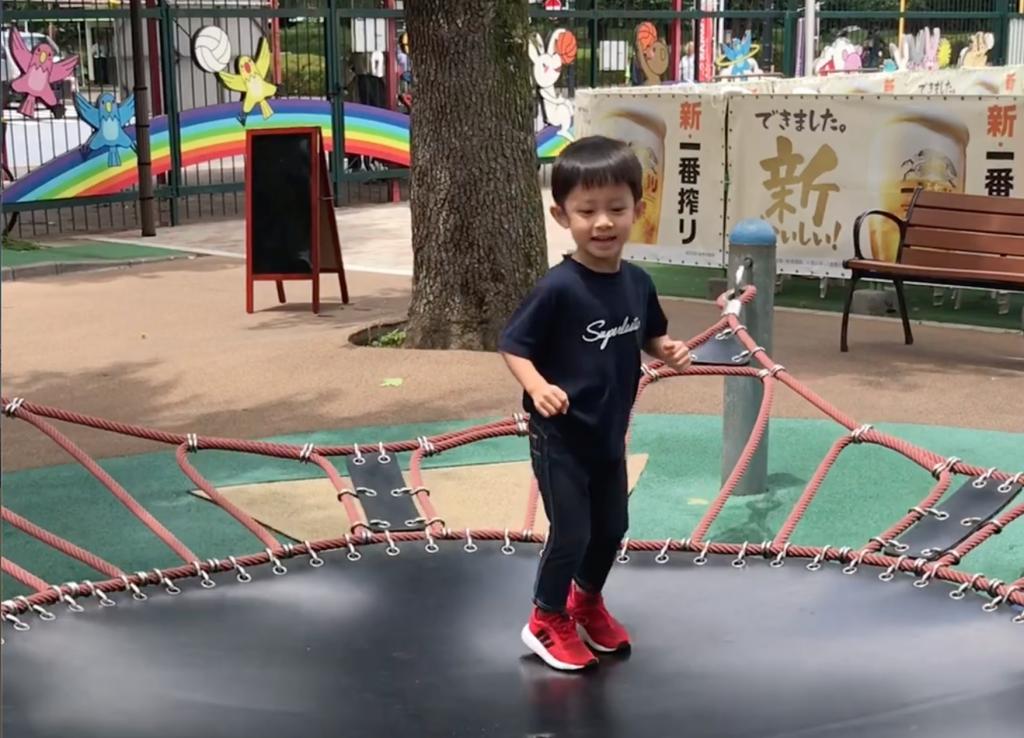 【東京親子遊】市內最方便的公園  滾筒長滑梯超級好玩_黃巴士